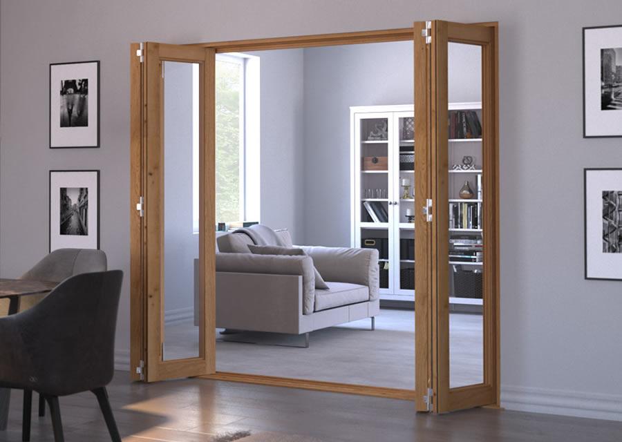 Oak Internal Bifold Doors Native Joinery